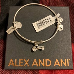Alex and Ani Monopoly Car Bracelet